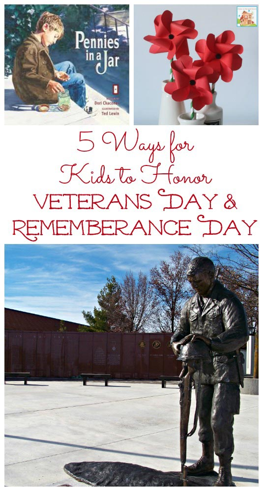 teaching kids about Veterans & Remembrance Day