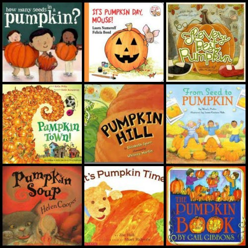 pumpkin books for kids | Halloween crafts and activities