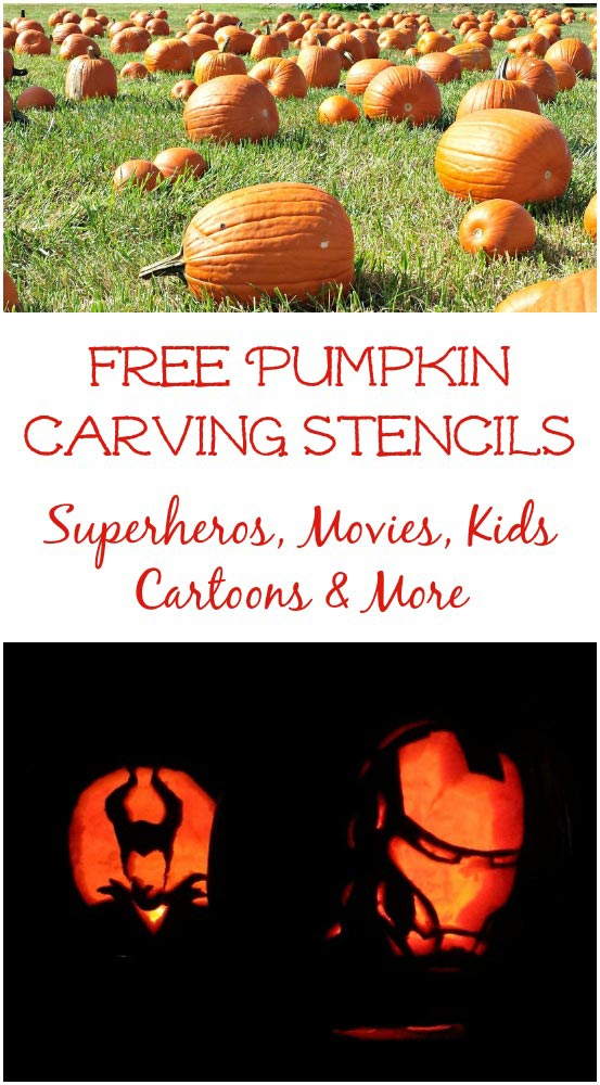 Free pumpkin carving templates for teens