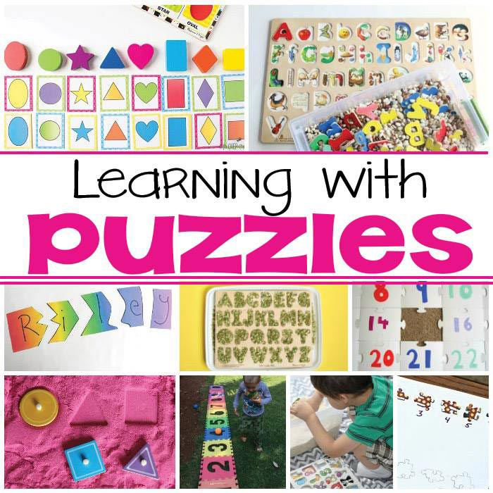 puzzle activities for kids