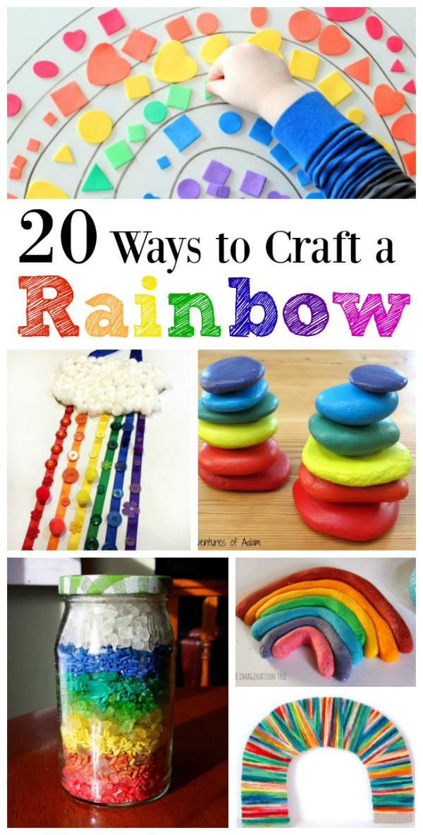 Colors of the Rainbow: 20 Craft Ideas for Kids