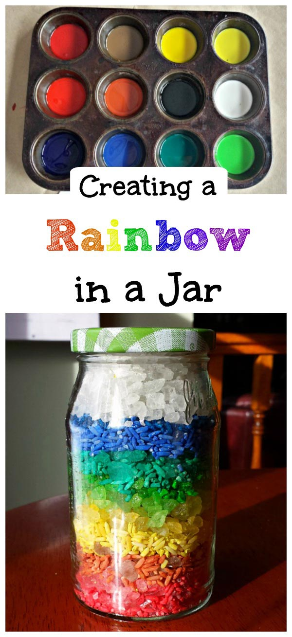 Buiding Fine Motor Skills with this Rainbow Rice Craft for toddlers, preschoolers and elementary age kids!