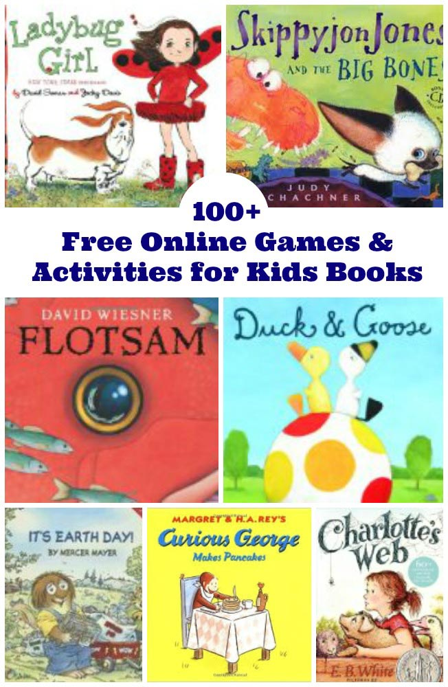 100 Free Books Activities
