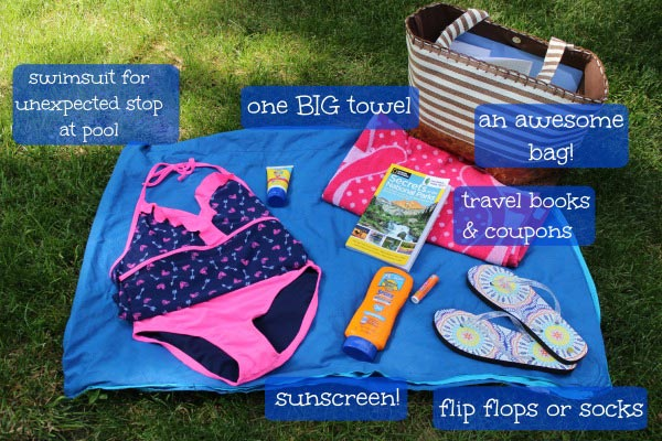 things to pack in a beach bag