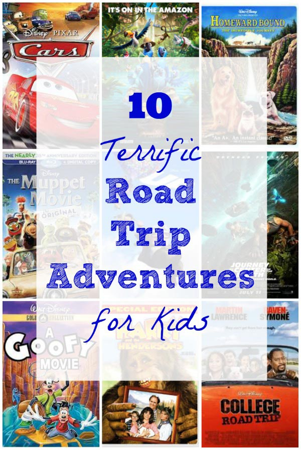 best road trip travel movies for kids