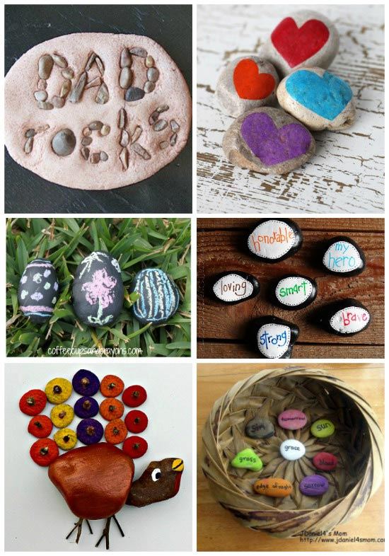 Holiday nature crafts
