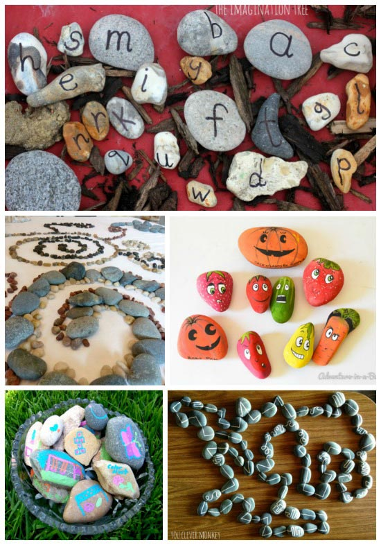 Learning Activities that Use Rocks