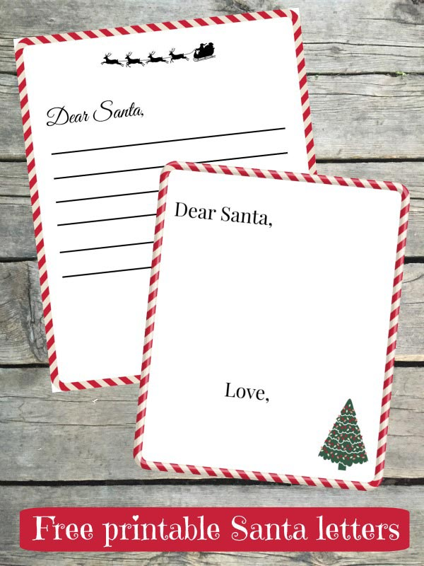 Write a letter to Santa Claus and get one back - both online letters and real mail!