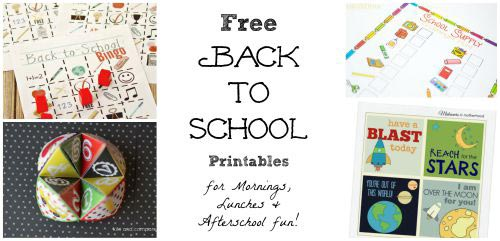 free printables for first day of school