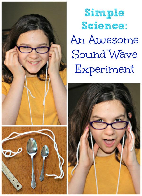 Sound Wave Experiment for Kids