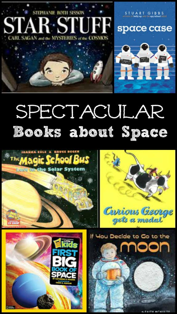 great space books for kids