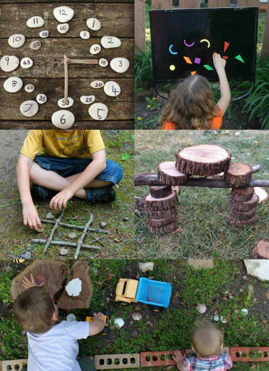 Nature Play for the Backyard