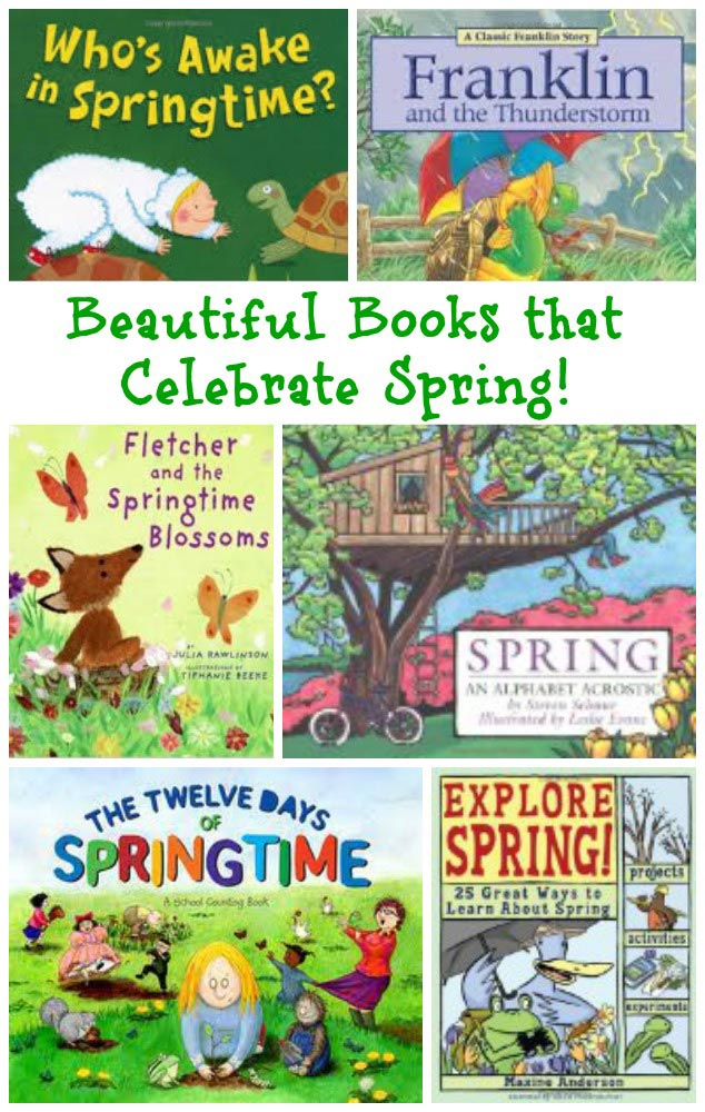 Spring books kids will love