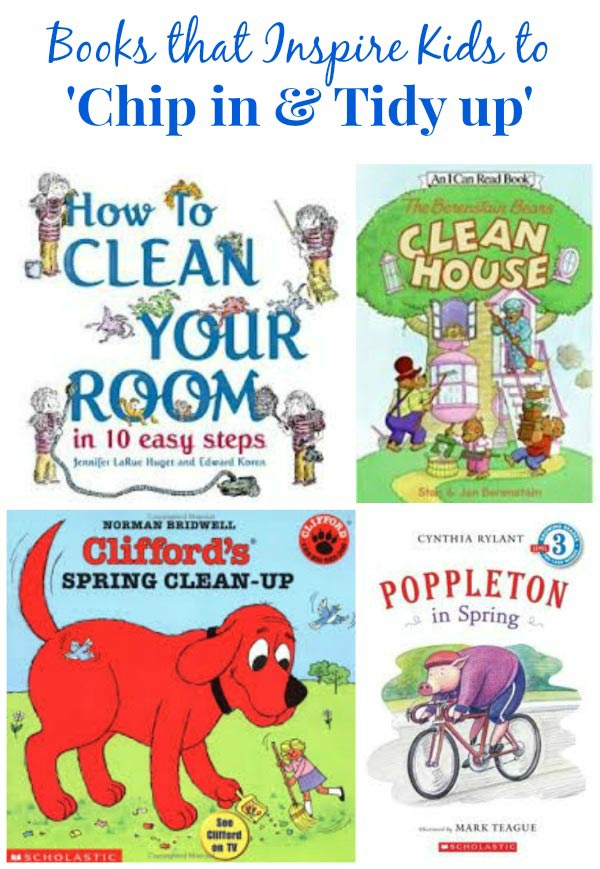 spring cleaning books for kids