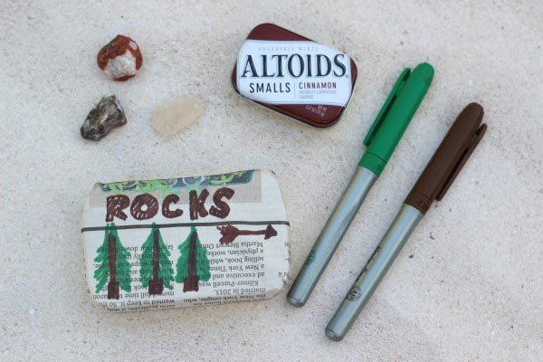 Tips for Kids on how to Start & Organize a Nature Collection   Great upcycled DIY Craft