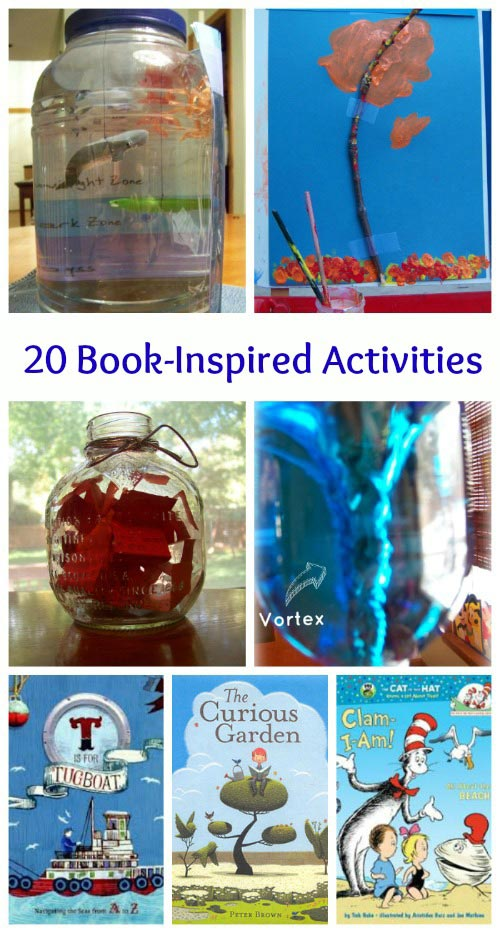 20 Book Inspired Projects