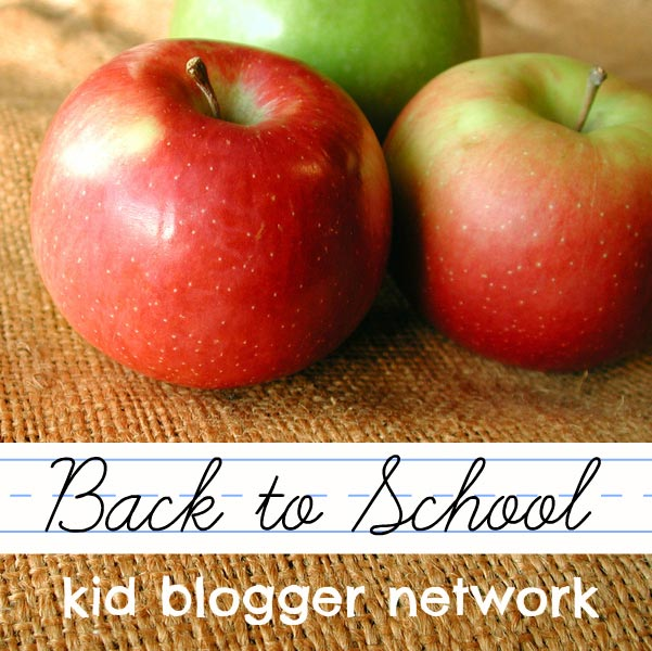Back to School with Kid Blogger Network