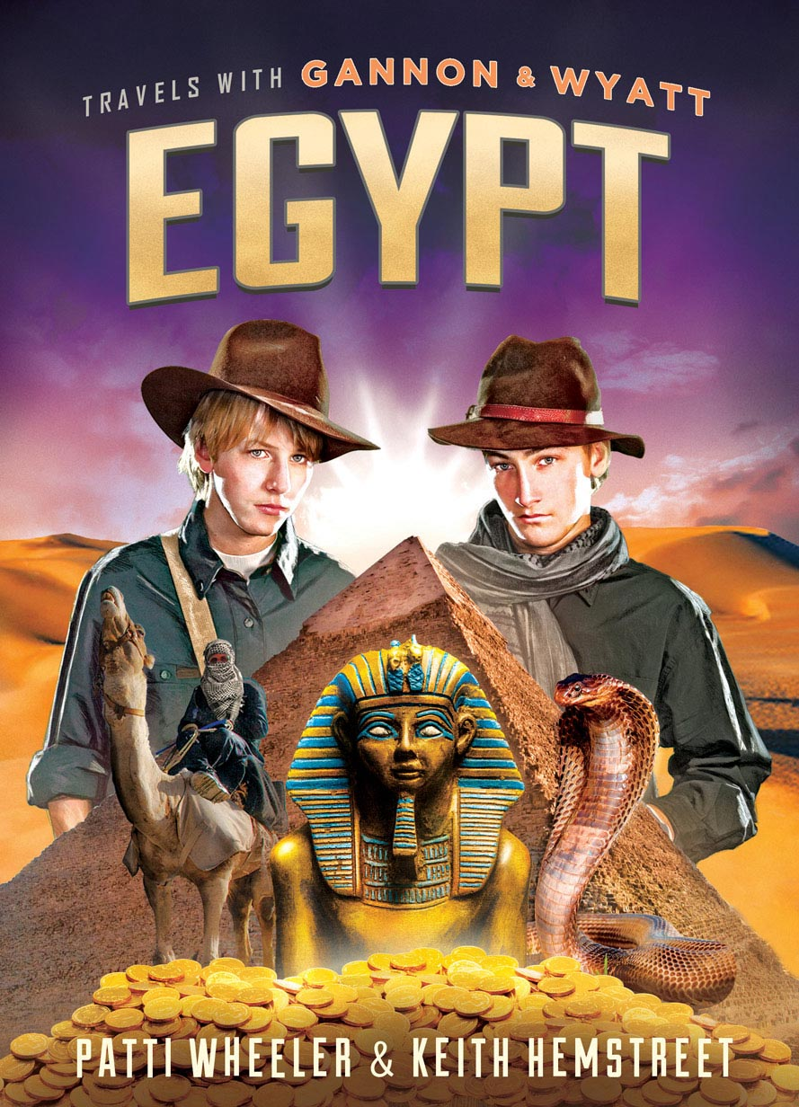 Travels with Gannon and Wyatt  Egypt