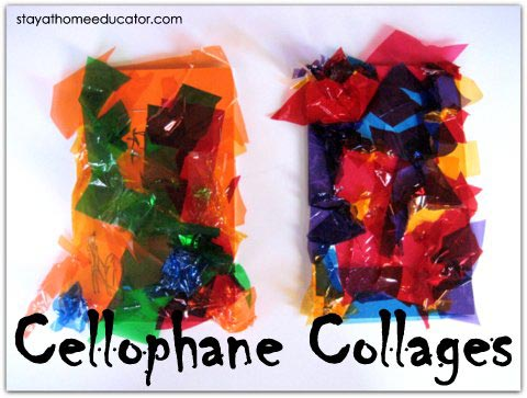 art-Cellophane-Collages