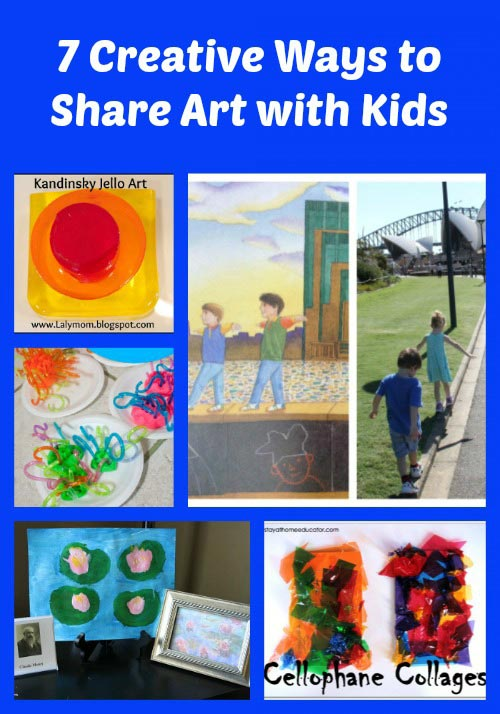 Creative Ways to Share Art with Kids