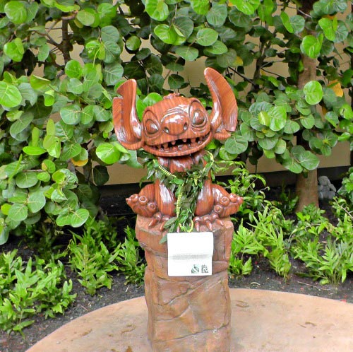 See Stitch at Aulani resort on Oahu