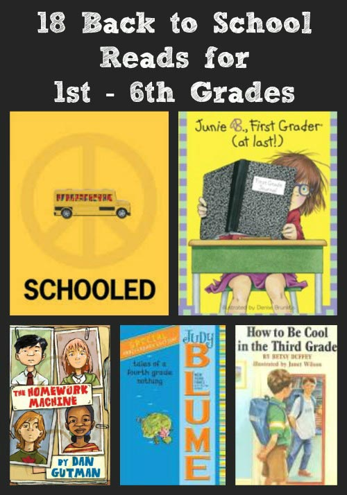 Back to School Books 1st - 6th Grades