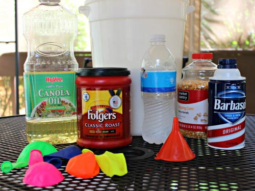 Items for Sensory Play