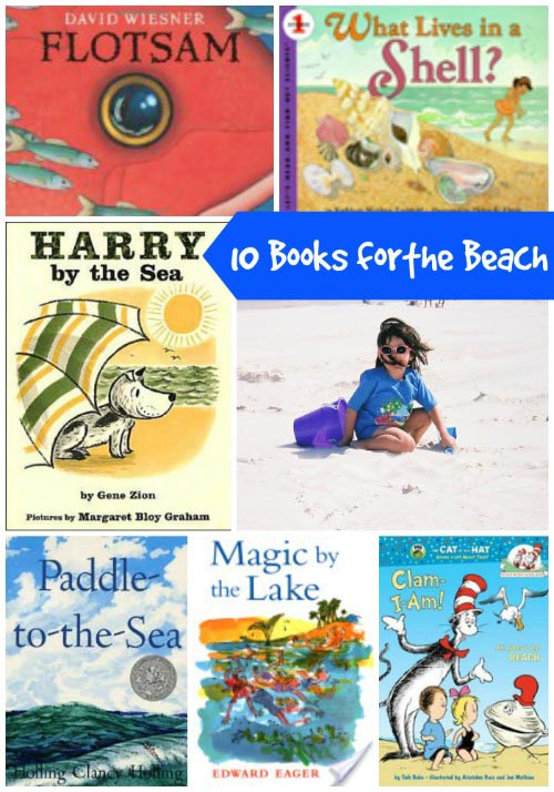 books to read at the beach with kids