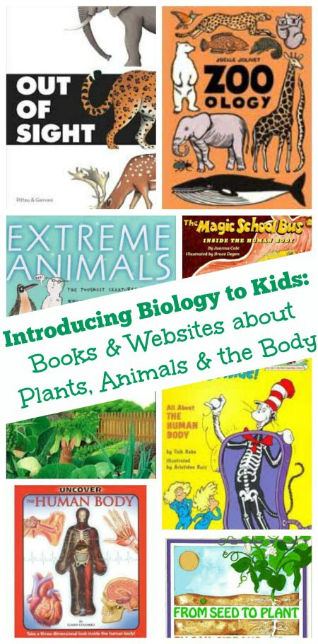 Books & Websites that Teach Kids about Biology