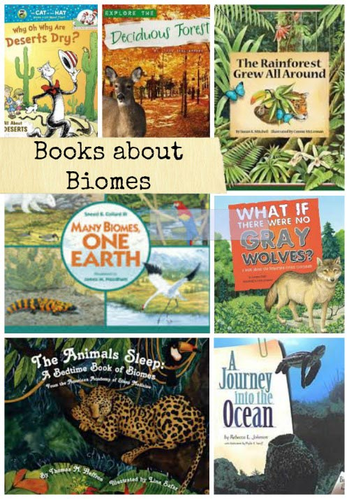 Books about biomes and ecology