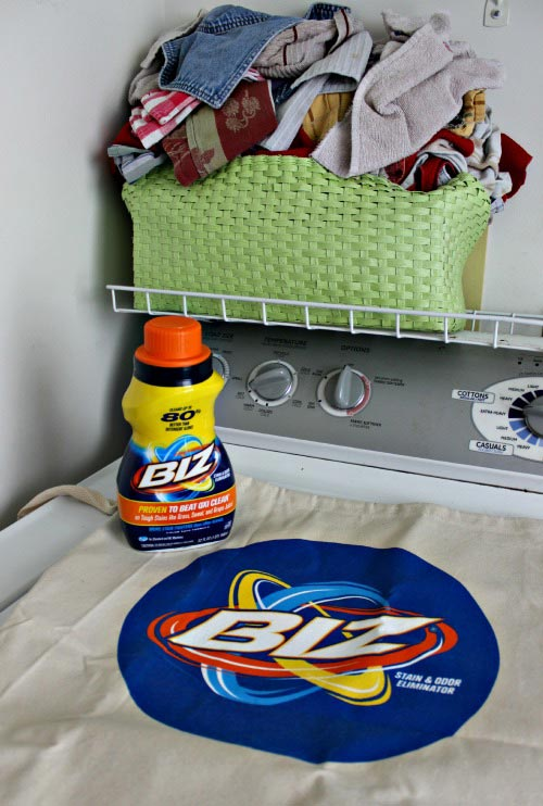 Cleaning Laundry with the #BizChallenge