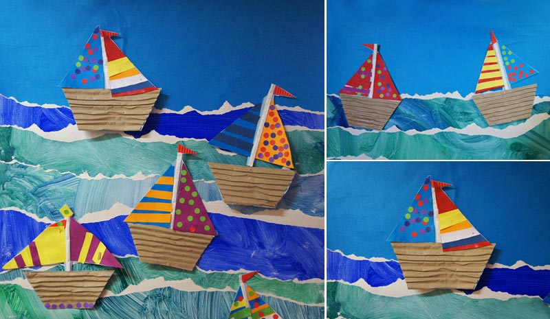 Boat Crafts for Kids