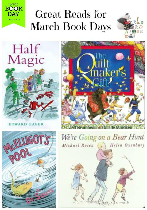 March Book Celebrations for Kids