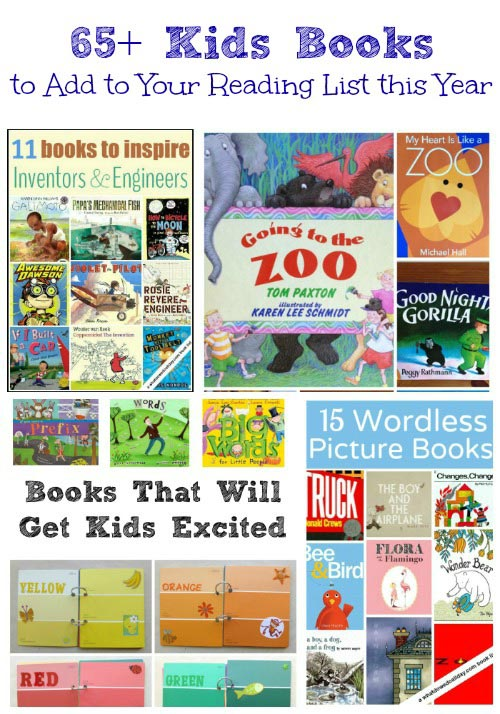 65 Kids Books to Add to Your Reading List