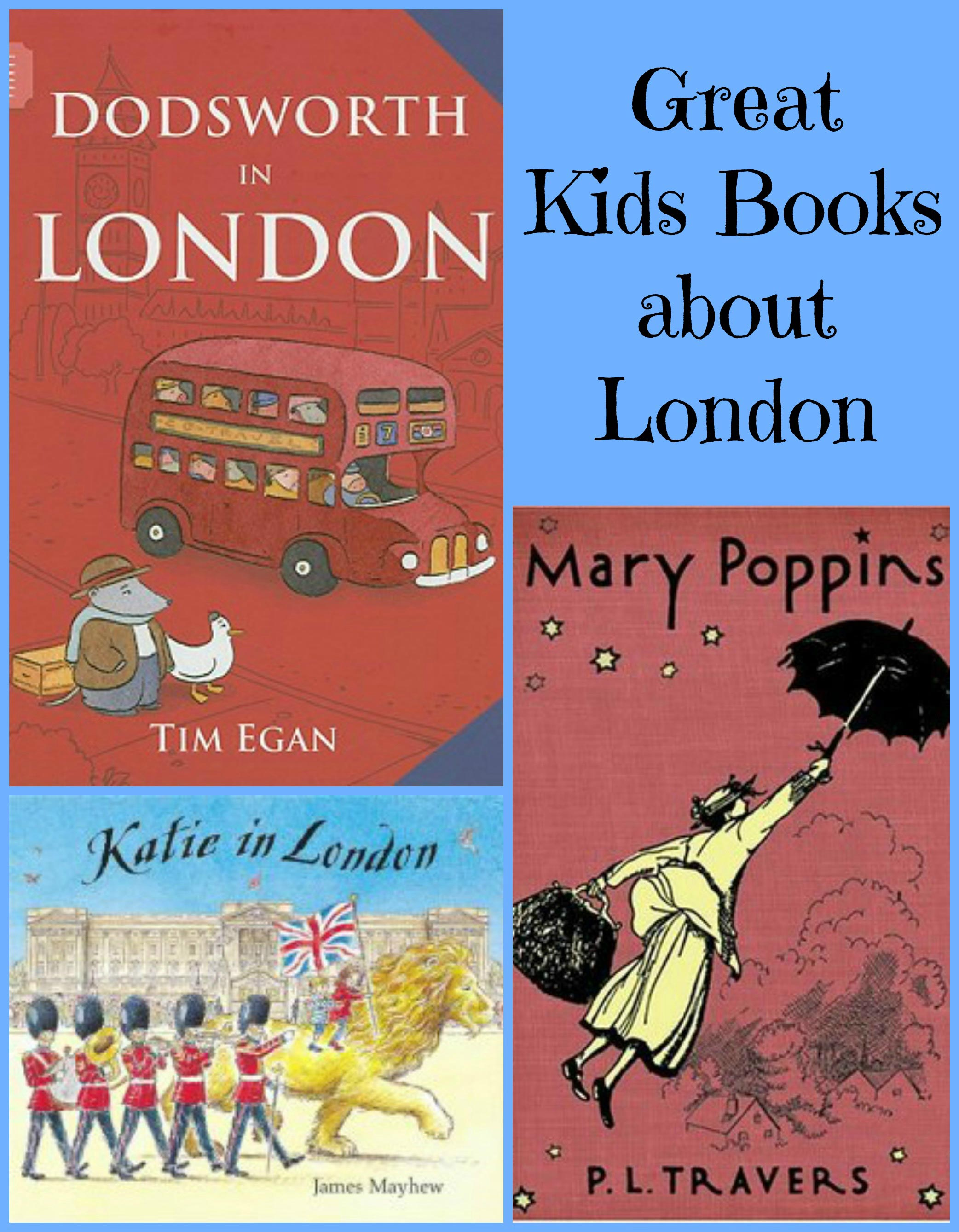 Explore London Through Kids Books