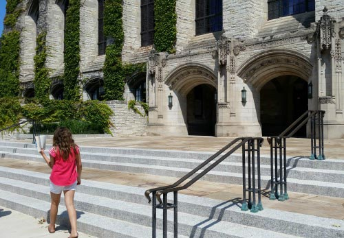 Touring College campuses