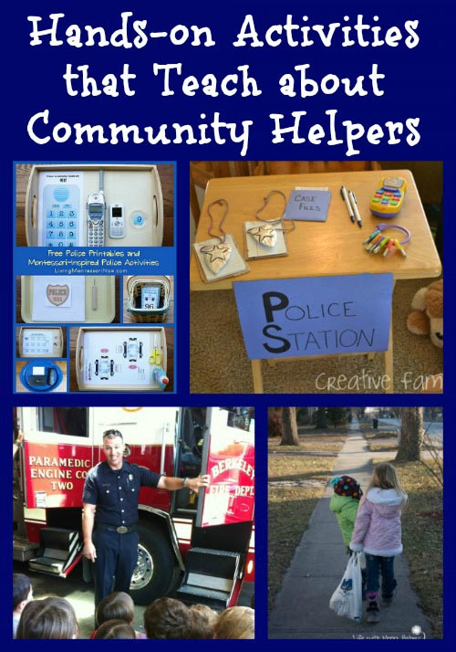 Hand-on Activities that Teach about Community Helpers