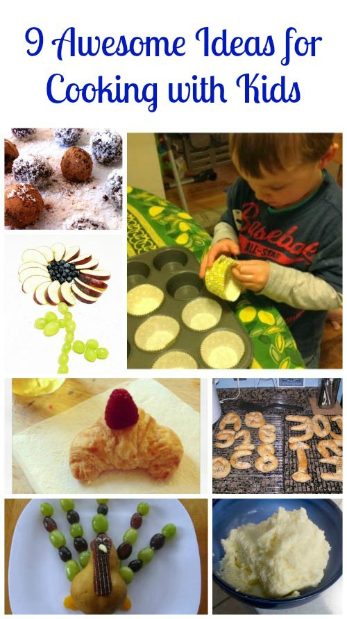Great Ideas for Cooking with Kids