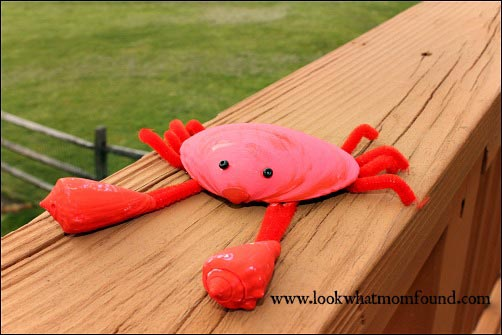 beach crafts and activities for kids