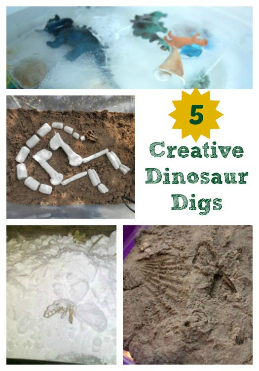 Create Your Own Dinosaur Dig
