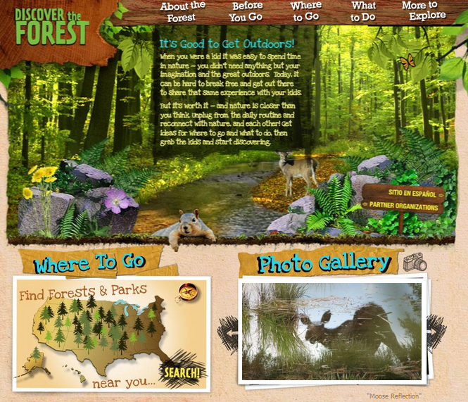 Earth friendly websites for Kids