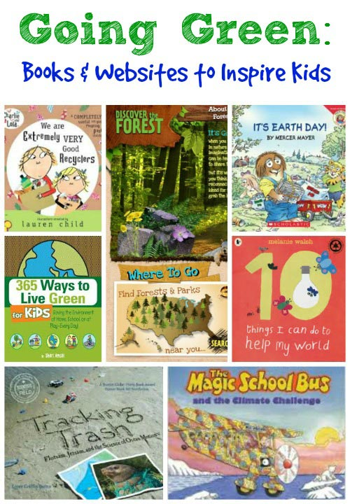 Going Green Books & Websites for Kids