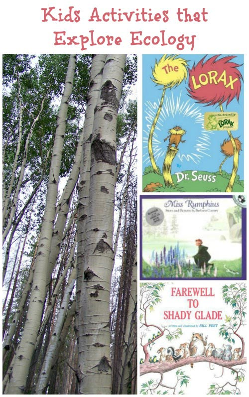 Kids Activities about Ecology & the Lorax