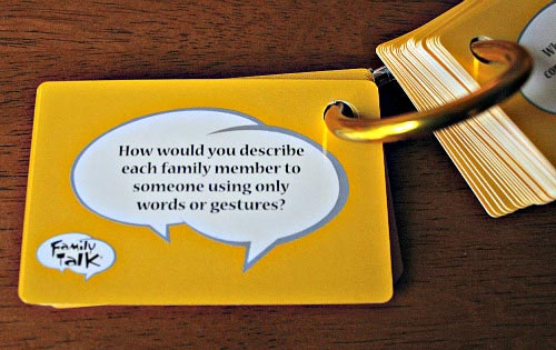 Fun questions for family dinner