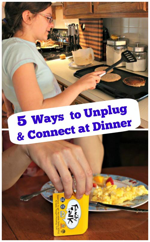 5 Ways to Connect with Family over Dinner