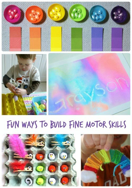 Building Fine Motor Skills in Kids