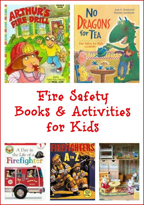 Fire Safety Books & Activities for Kids