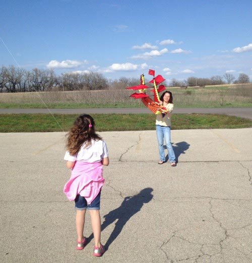 Science behind flying a kite and great books about kites