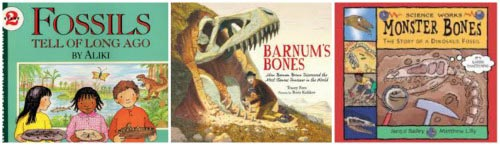Kids books about Fossils