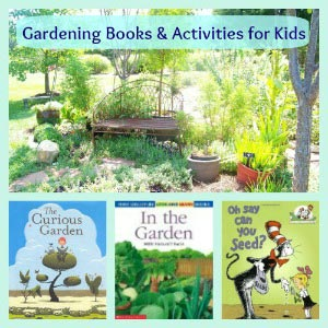 Books about Plants and Gardening for Kids